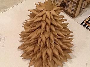 Мастерим ёлку из бумаги. Ярмарка Мастеров - ручная работа, handmade.