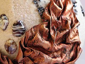 Декорируем ткань под металл | Ярмарка Мастеров - ручная работа, handmade
