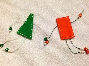 """Милые """"человечки"""" из фетра. Простые до невозможности &#x3B;). Ярмарка Мастеров - ручная работа, handmade."""