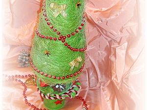 Ёлка Новогодняя из сизаля. Ярмарка Мастеров - ручная работа, handmade.