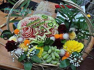 Мастерство карвинга -курс по фигурной резьбе по овощам и фруктам | Ярмарка Мастеров - ручная работа, handmade