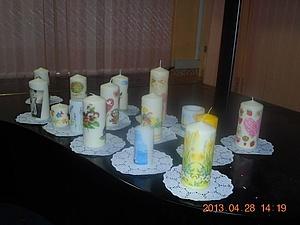 Мастер-класс по декору свечей | Ярмарка Мастеров - ручная работа, handmade