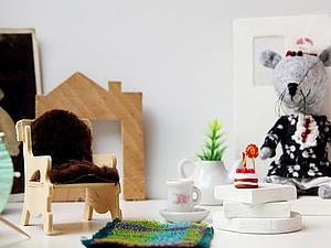 Один день из жизны мышки Ми-Ми. Ярмарка Мастеров - ручная работа, handmade.