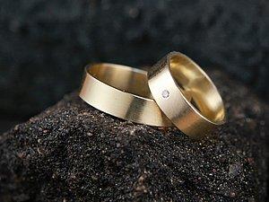 Обручальные кольца своими руками! | Ярмарка Мастеров - ручная работа, handmade
