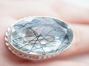 Аукцион!!! На кольцо из серебра 925 пробы! | Ярмарка Мастеров - ручная работа, handmade