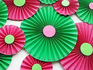 "Мастер-класс: ""Веерные круги"". Ярмарка Мастеров - ручная работа, handmade."