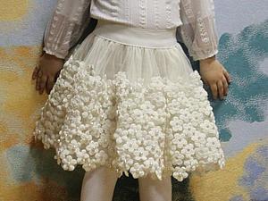 Шьем новогоднюю юбочку для девочки. Ярмарка Мастеров - ручная работа, handmade.
