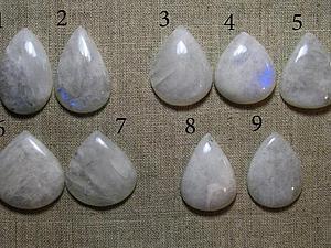 Кабошоны из лунного камня | Ярмарка Мастеров - ручная работа, handmade