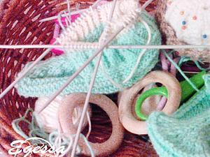 Скоро в наличии пинетки-носочки вкусного цвета мяты! | Ярмарка Мастеров - ручная работа, handmade
