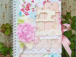 Блокнот для настоящей рукодельницы - Конфетка в моем блоге до 31.01.14 | Ярмарка Мастеров - ручная работа, handmade