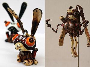 Стимпанк скульптуры Michihiro Matsuoka | Ярмарка Мастеров - ручная работа, handmade