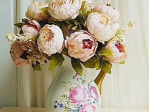 Цветы для декора | Ярмарка Мастеров - ручная работа, handmade
