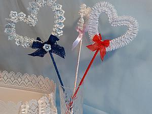 Делаем интерьерное украшение «Кружевное сердце». Ярмарка Мастеров - ручная работа, handmade.