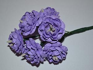 НОВИНКА! Бумажные цветы ручной работы | Ярмарка Мастеров - ручная работа, handmade