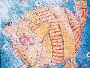 Гуашь с ПВА как замена масла и акрила | Ярмарка Мастеров - ручная работа, handmade