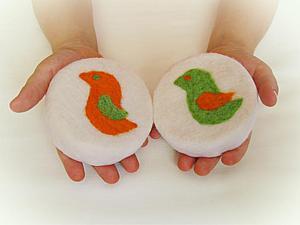 Создание детского мыла в войлоке «Моя птичка». Ярмарка Мастеров - ручная работа, handmade.