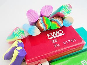 Видео мастер-класс: делаем разнообразные трости для лепестков из полимерной глины Fimo. Ярмарка Мастеров - ручная работа, handmade.