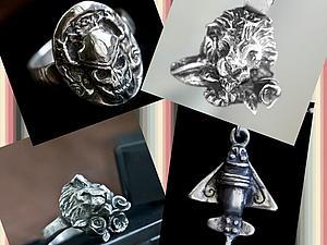Авторский мастер класс из серебряной глины Art Clay Silver | Ярмарка Мастеров - ручная работа, handmade