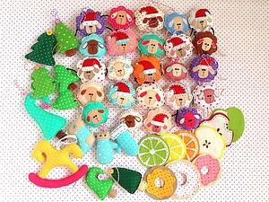 Игрушки на елку! | Ярмарка Мастеров - ручная работа, handmade