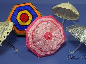 МК-зонтик для игрушек   Ярмарка Мастеров - ручная работа, handmade
