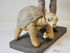 Зонтик и Черепаха - аксессуары для куклы. Лепим с нуля.. Ярмарка Мастеров - ручная работа, handmade.