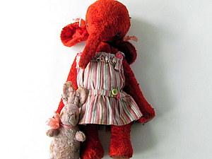 Девочка Лида и Зайка Сашка. | Ярмарка Мастеров - ручная работа, handmade
