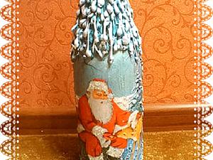 Мастер-класс: декорируем бутылку