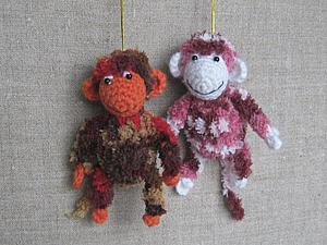 Мастер-класс: вяжем маленькую обезьянку крючком за два часа. Ярмарка Мастеров - ручная работа, handmade.