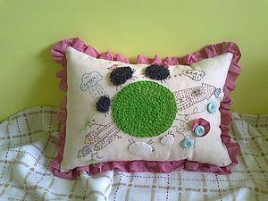 Сделаем интересную подушку с птичками!. Ярмарка Мастеров - ручная работа, handmade.