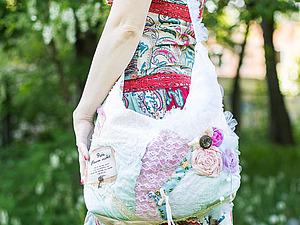 Шикарная сумочка в стиле шебби. Или бохо...   Ярмарка Мастеров - ручная работа, handmade