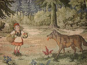 Правда и вымысел о Красной Шапочке | Ярмарка Мастеров - ручная работа, handmade