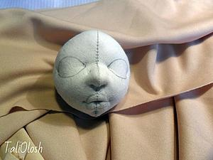 Создание объемной текстильной кукольной головки. Часть 3. Ярмарка Мастеров - ручная работа, handmade.