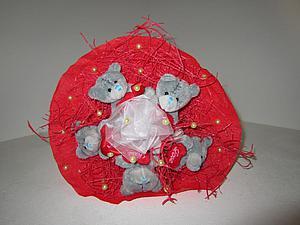 Создаем букет из киндер-сюрпризов и мягких игрушек. Ярмарка Мастеров - ручная работа, handmade.