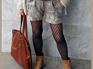 Мастер-шоу брюки-шорты-бриджи из войлока. Ирина Садыкова в Челябинске | Ярмарка Мастеров - ручная работа, handmade