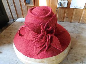 Красная шляпочка. Отчет с мк Светланы Кот. | Ярмарка Мастеров - ручная работа, handmade