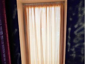 Как просто и экономично оформить оконный проём шторами. Ярмарка Мастеров - ручная работа, handmade.