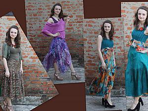 Мастер-класс Летняя летящая  юбка с построением выкройки (для начинающих) | Ярмарка Мастеров - ручная работа, handmade