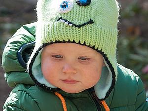 Детские вязаные шапочки! | Ярмарка Мастеров - ручная работа, handmade