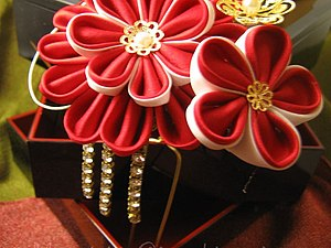 Кто такие канзаши, и от куда они взялись, часть 3   Ярмарка Мастеров - ручная работа, handmade