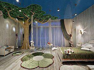 Необычное оформление детской комнаты | Ярмарка Мастеров - ручная работа, handmade