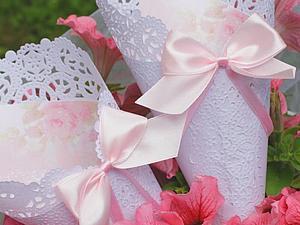 В нашей коллекции новинка! Кулечки для лепестков роз. | Ярмарка Мастеров - ручная работа, handmade