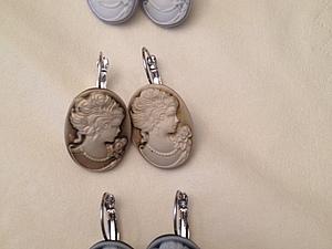 Коллекция камей - бронзовых, пепельных и лавандовых к открытию Блошиного рынка | Ярмарка Мастеров - ручная работа, handmade