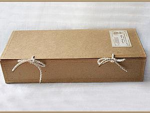 Коробка для куклы в эко стиле | Ярмарка Мастеров - ручная работа, handmade