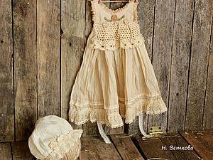 Как состарить платье для куклы. Ярмарка Мастеров - ручная работа, handmade.
