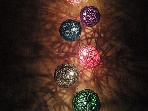 Светильник - Ночник из ротанга | Ярмарка Мастеров - ручная работа, handmade