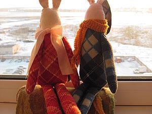 Зайцы | Ярмарка Мастеров - ручная работа, handmade