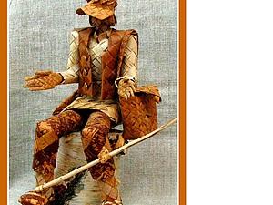 Берестяные игрушки: тема плетения продолжается. Ярмарка Мастеров - ручная работа, handmade.