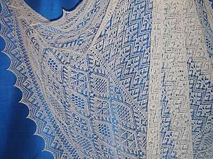 Из истории вязания. Удивительное шетландское кружево. Ярмарка Мастеров - ручная работа, handmade.