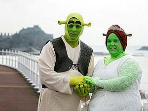 Когда людоеды не страшны: свадьба Шрека и Фионы | Ярмарка Мастеров - ручная работа, handmade