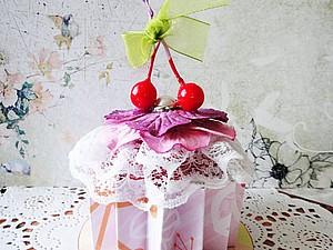 Создаем декоративный мини-кекс. Ярмарка Мастеров - ручная работа, handmade.